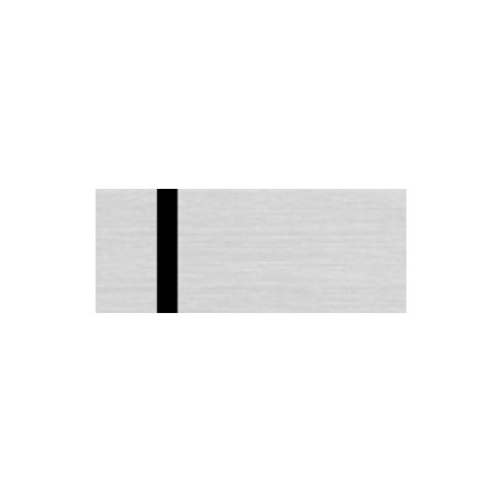 Heavy Metal LZ 991-016 - Brushed Silver Gloss/Black/ (1,6 mm)